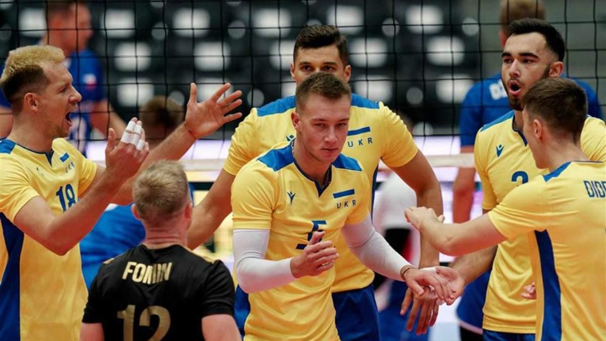 Украина выиграла первый матч на волейбольном Евро-2019