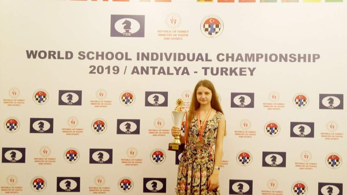 17-річна українка Грищенко стала чемпіонкою світу з шахів