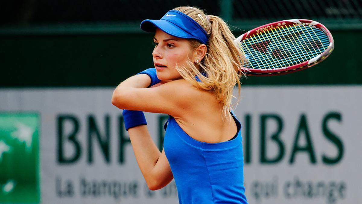 Українська тенісистка Завацька не змогла дати бій іменитій Кенін на престижному турнірі