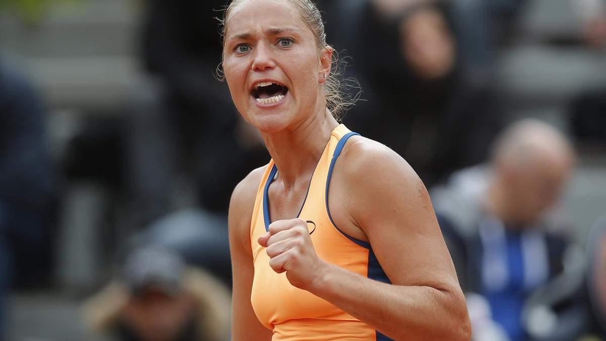 Відома українська тенісистка відновлює кар'єру після народження дитини