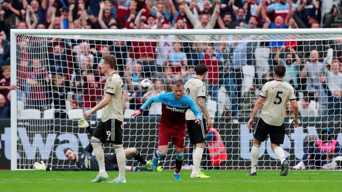Вест Хем - Манчестер Юнайтед: огляд і рахунок матчу 22.09.2019 - АПЛ