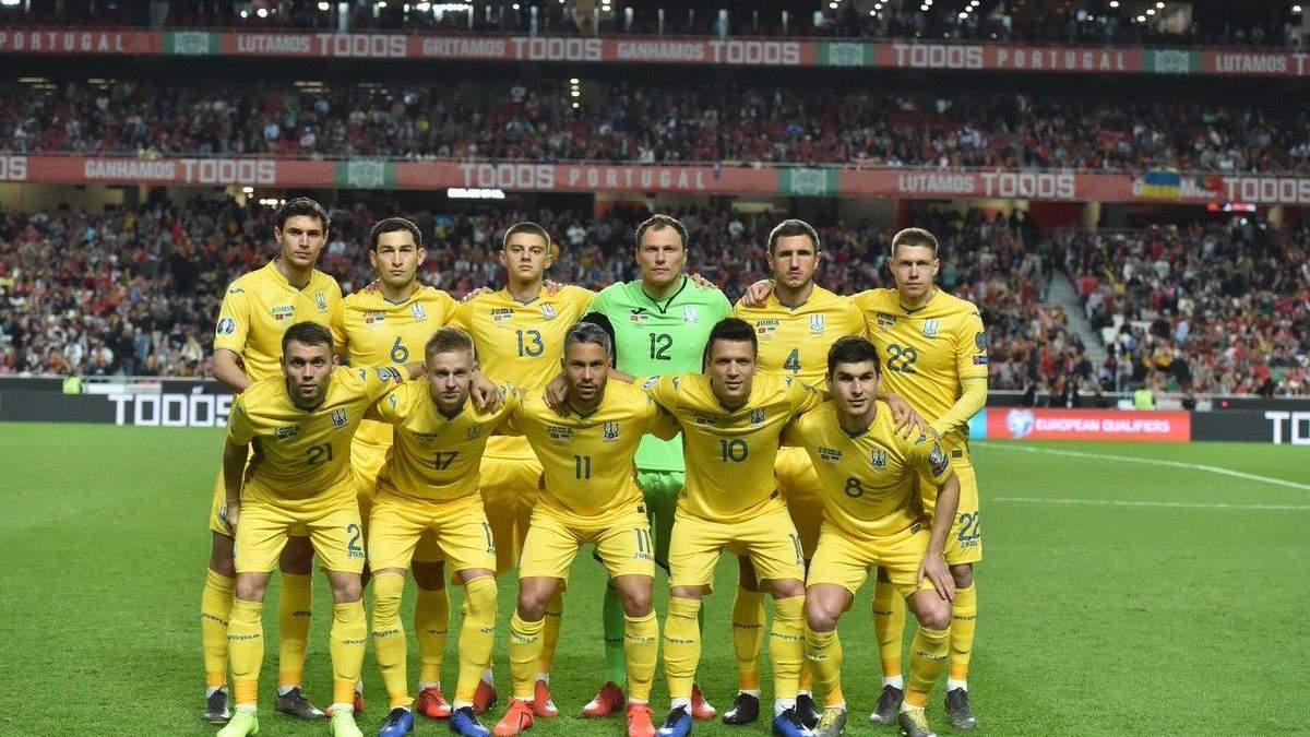 Шевченко оголосив склад збірної України на матчі відбору до Євро-2020 проти Португалії та Литви