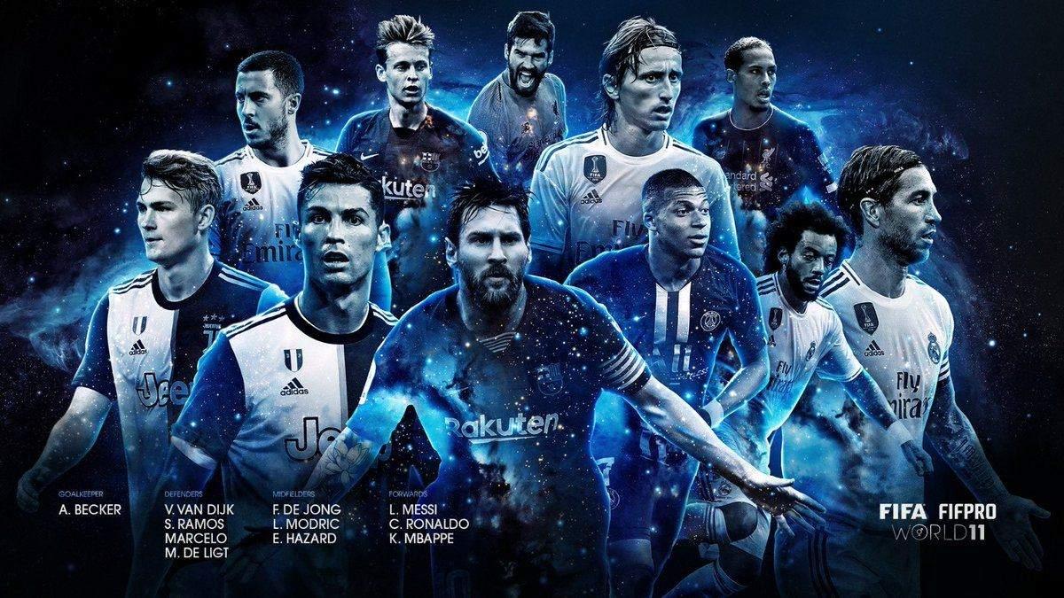 Символічна збірна за версією ФІФА