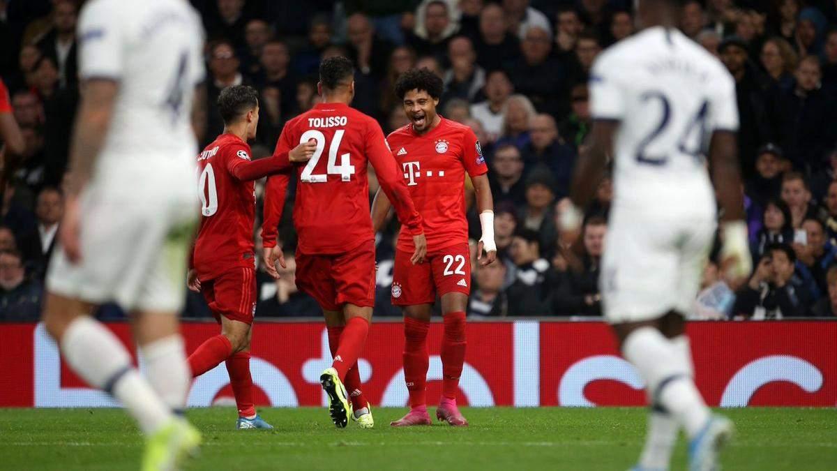 Тоттенхэм – Бавария: обзор и счет матча 1 октября 2019 – Лига чемпионов