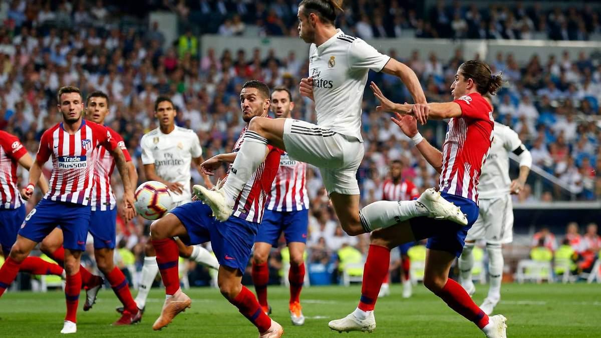 """""""Атлетіко"""" та """"Реал"""" не змогли визначити сильнішого у дербі: відео"""