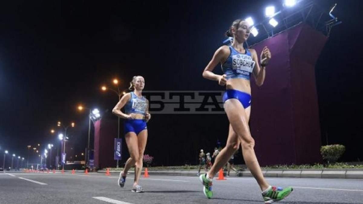 """Українка Собчук зупинилася за крок від медалі на 50 км """"пекельного"""" ЧС з легкої атлетики"""