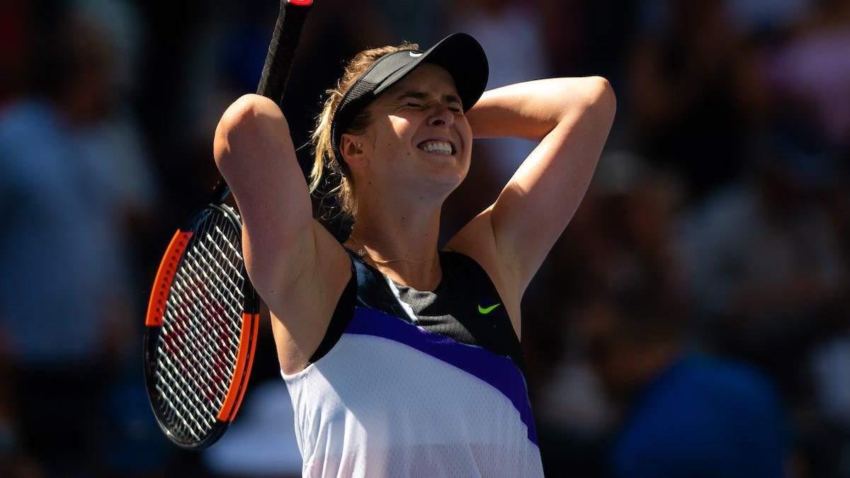 Свитолина с тяжелой победы стартовала на турнире в Пекине