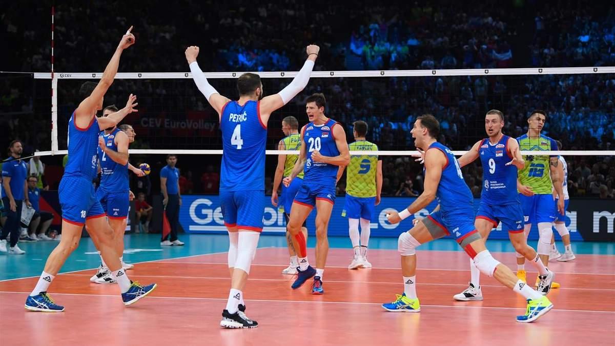 Збірна Сербії – чемпіон Європи з волейболу