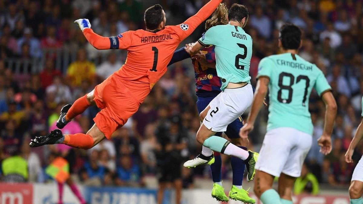 Барселона – Интер: обзор и счет матча 2 октября 2019 – Лига чемпионов