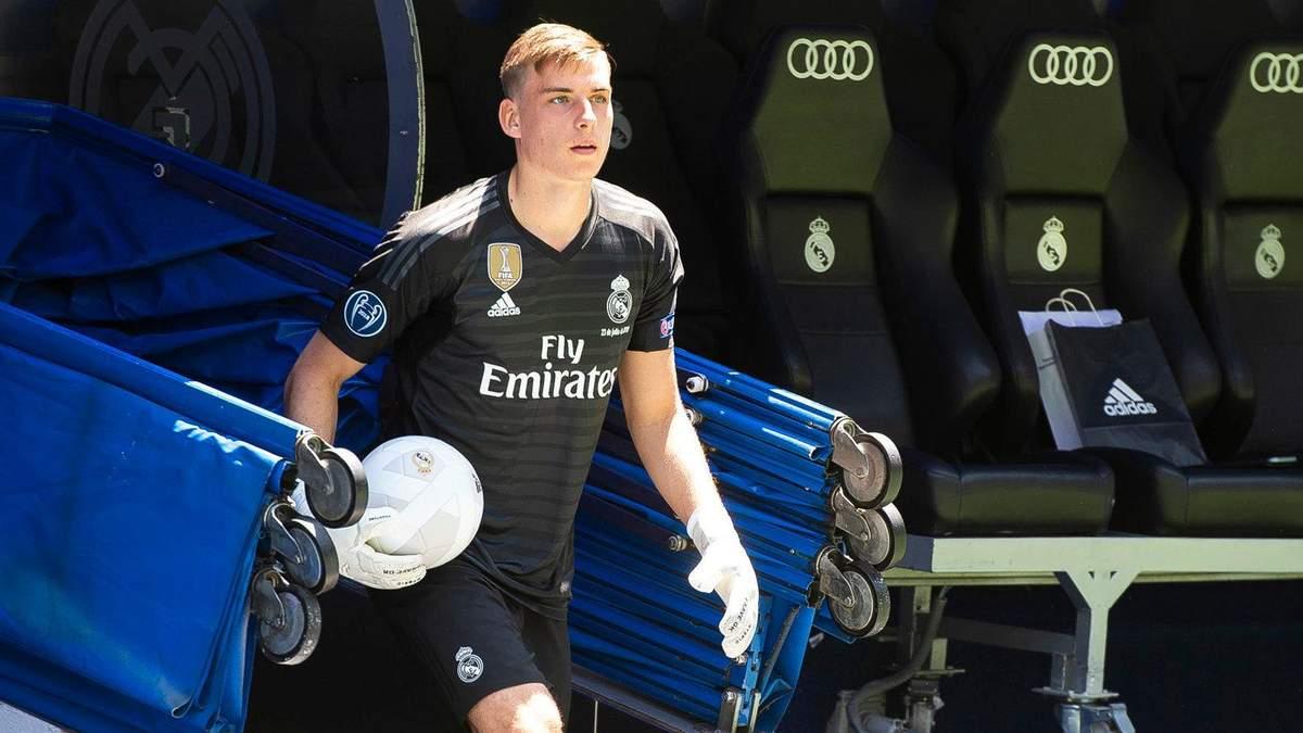 """""""Реал"""" розірве орендну угоду Луніна й відправить українця у команду Сегунди"""