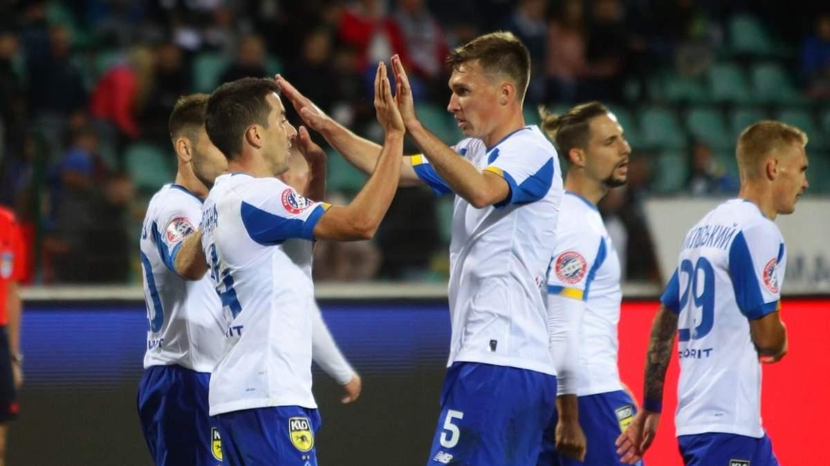 Лугано – Динамо: дивитися онлайн матч 3 жовтня 2019 – Лига Европы