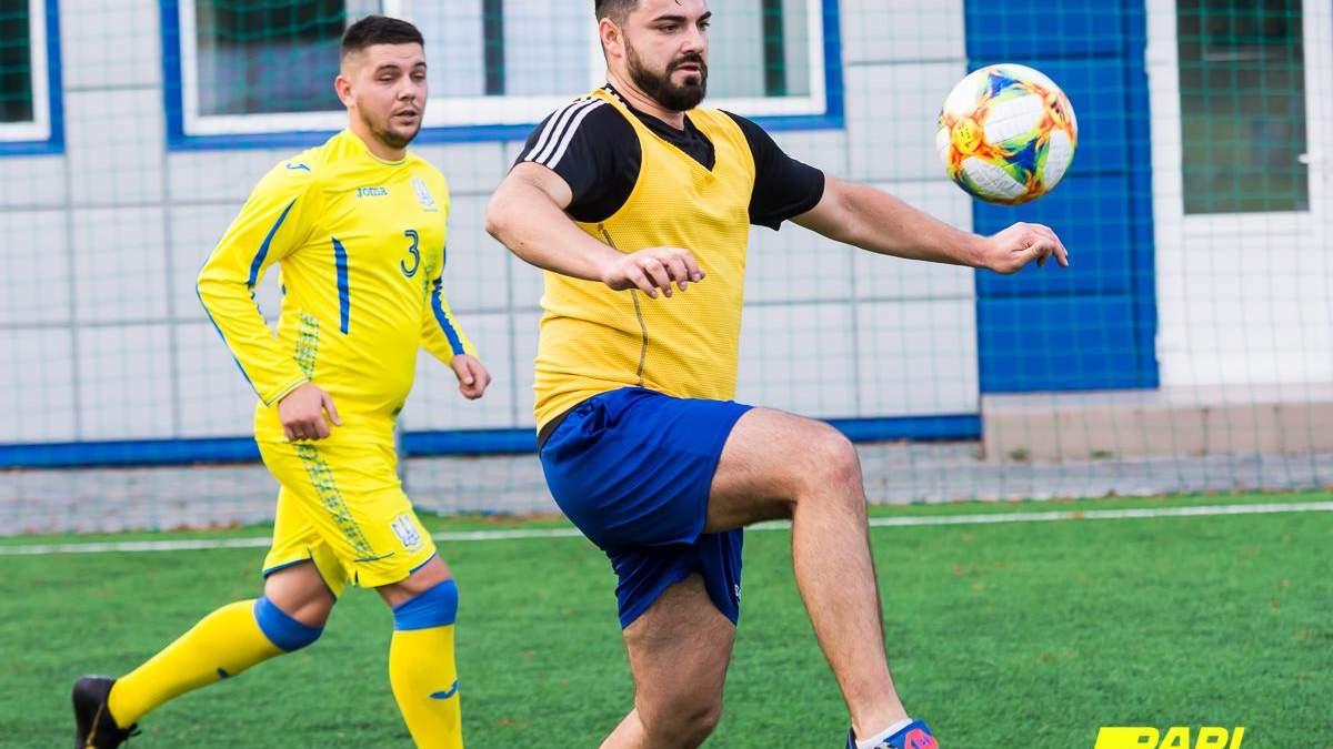В Киеве состоялся первый турнир по мини-футболу среди спортивных журналистов Parimatch media cup