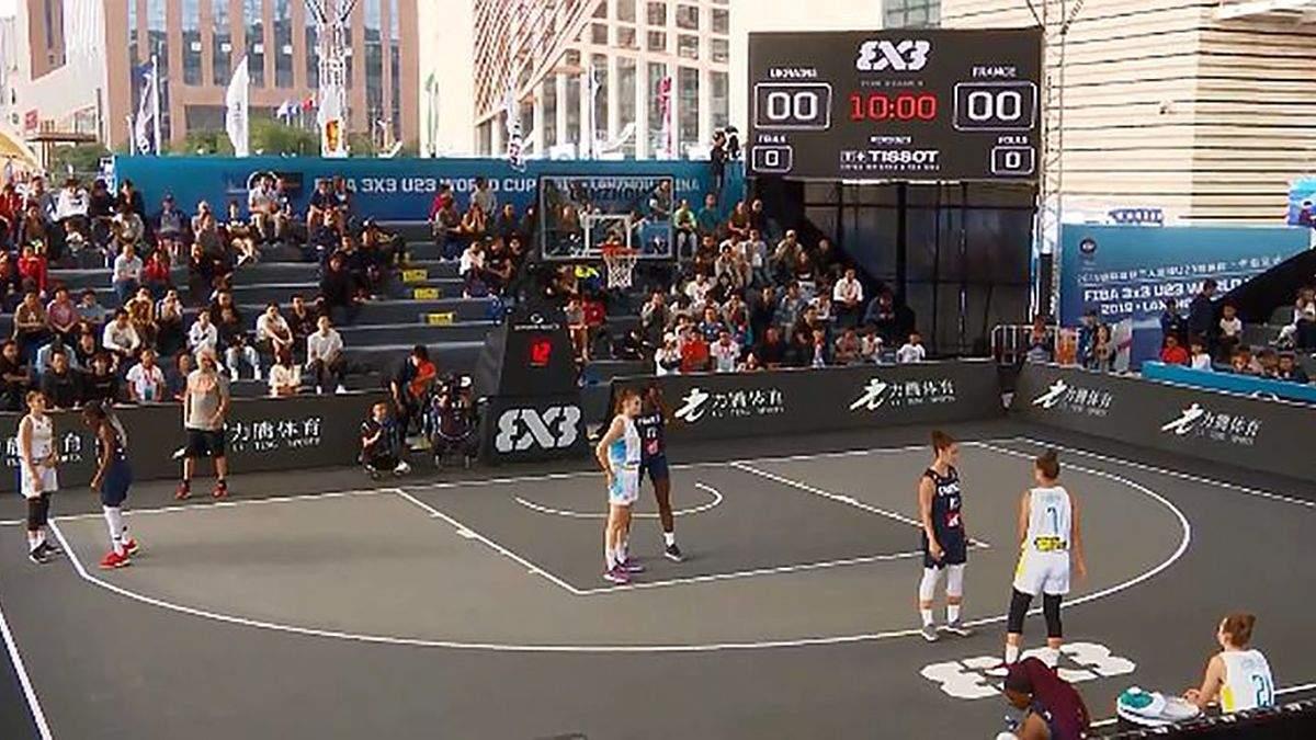Жіноча збірна України з баскетболу переможно стартувала на чемпіонаті світу 3х3: відео