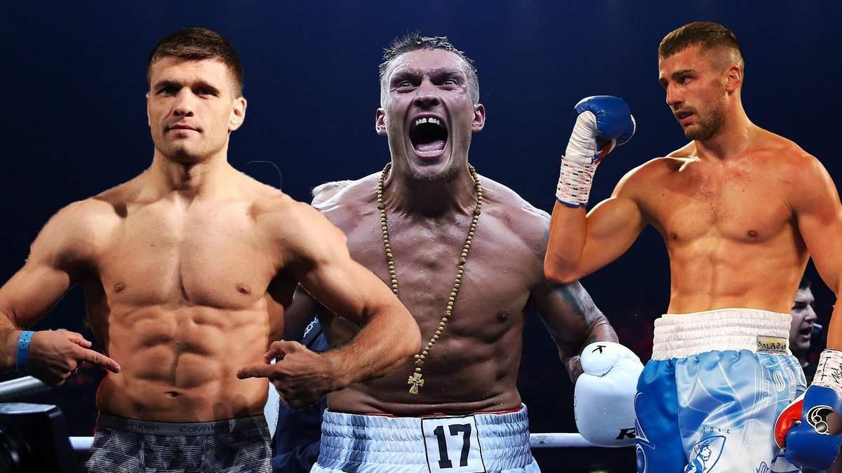 Топ-поединки украинских боксеров в октябре: расписание боев