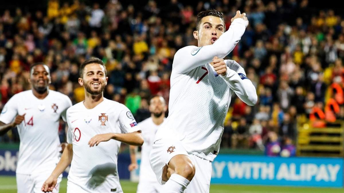 Португалия объявила список игроков на матч с Украиной в Киеве