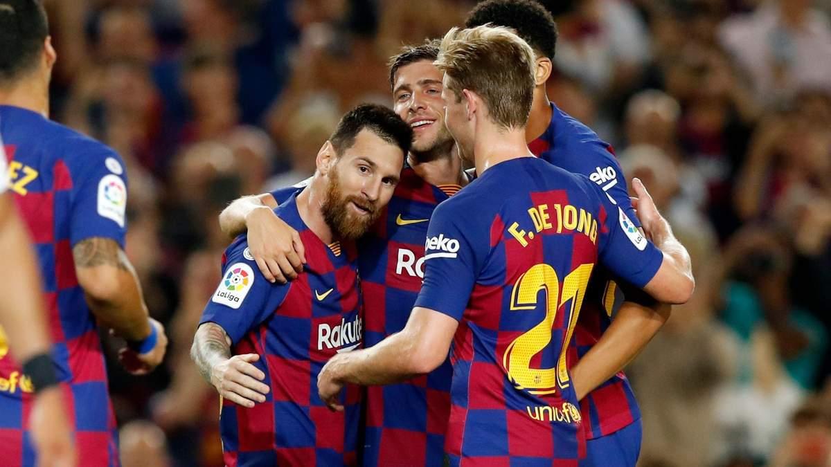 Барселона – Севілья: огляд і рахунок матчу 06.10.2019 – чемпіонат Іспанії