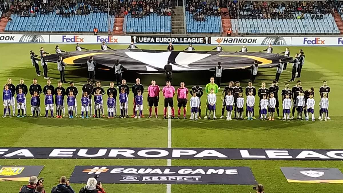 Матч Лиги Европы прервали из-за политической провокации