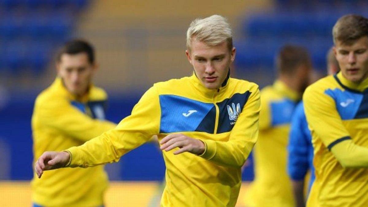 Коваленко довызван в сборную Украины