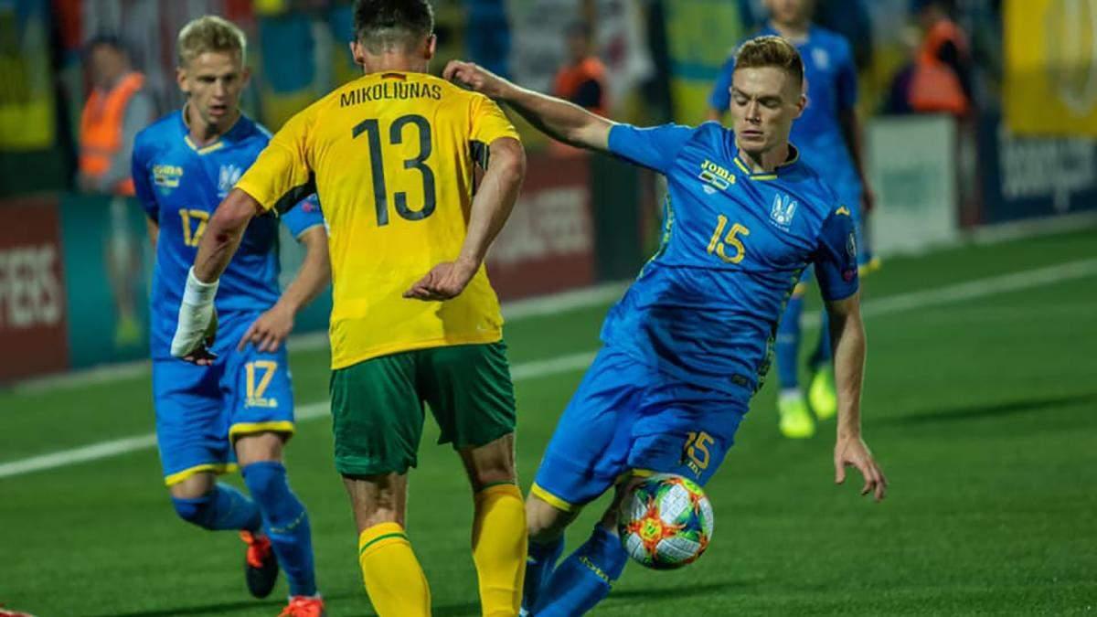Україна – Литва: прогноз і ставки на матч 11 октября 2019 – Євро 2020