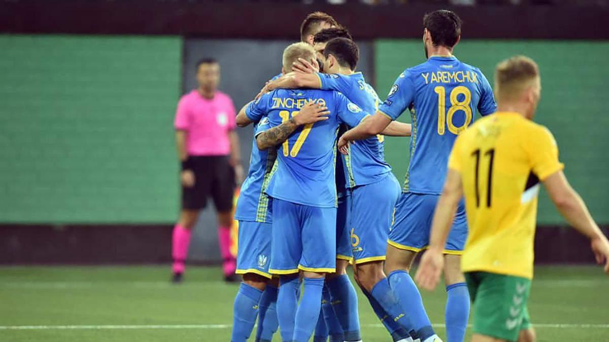 Украина – Литва: смотреть онлайн матч 11 октября 2019 – Евро 2020