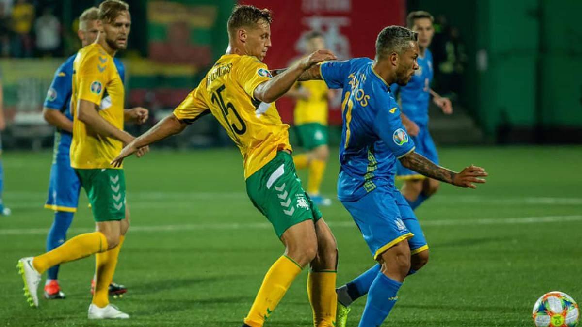 Украина – Литва: анонс матча 11.10.2019 отбора на Евро 2020