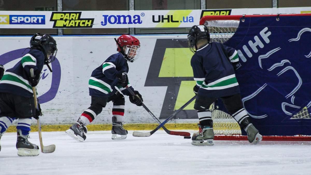 В Україні стартували дитячо-юнацькі змагання з хокею: фото