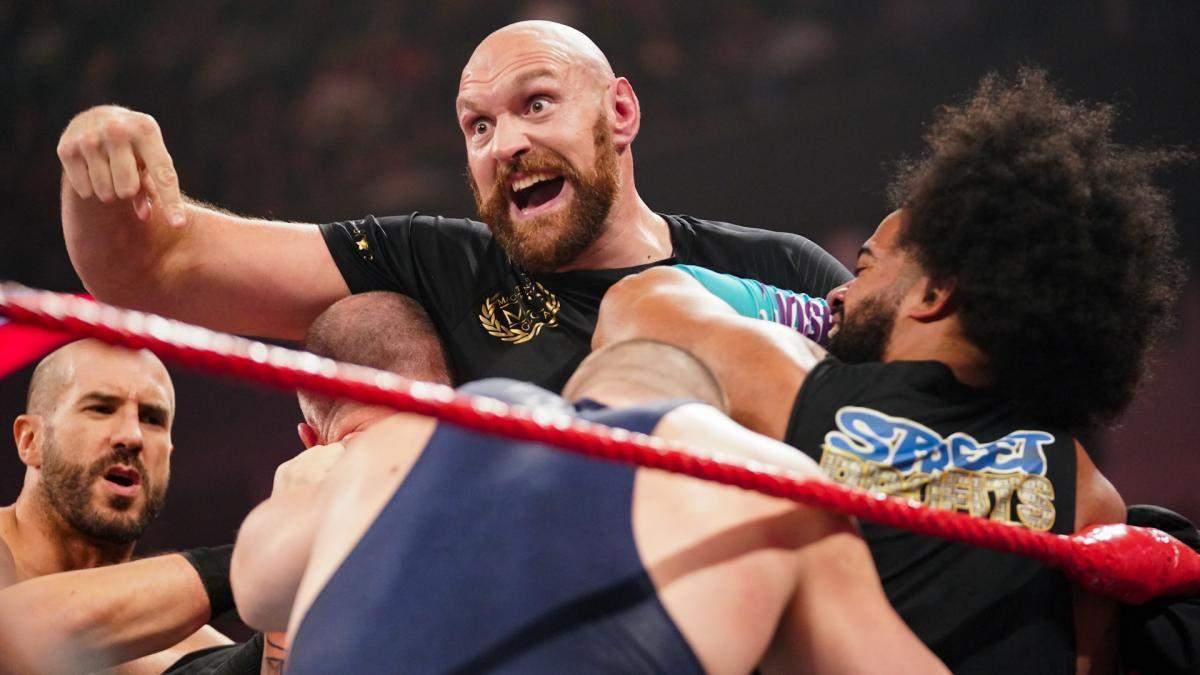 Тайсон Фьюри устроил драку в ринге – видео и фото драки