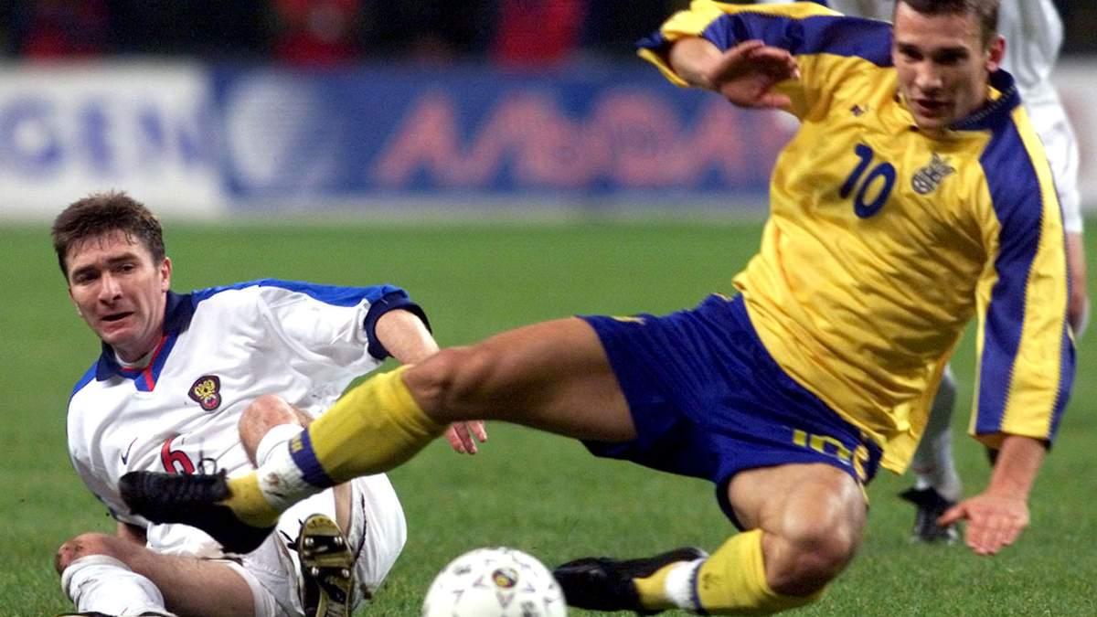 Россия – Украина: 20 лет легендарному матча