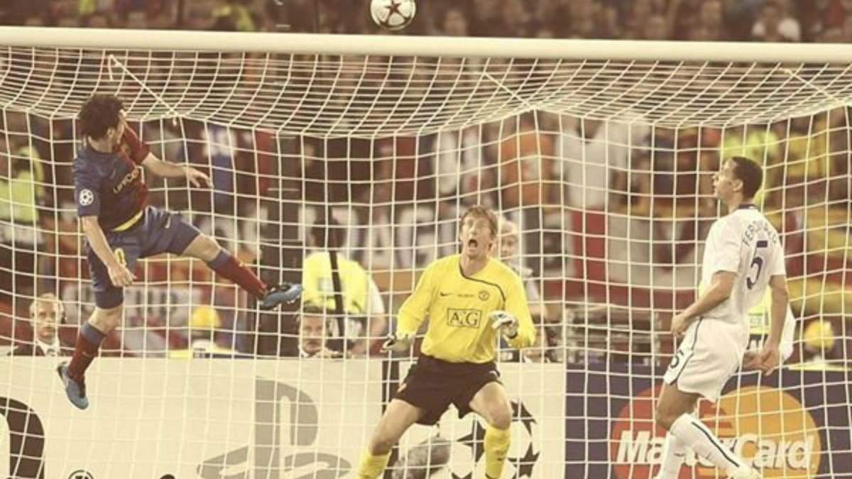 "Гол Мессі у ворота ""Манчестер Юнайтед"""