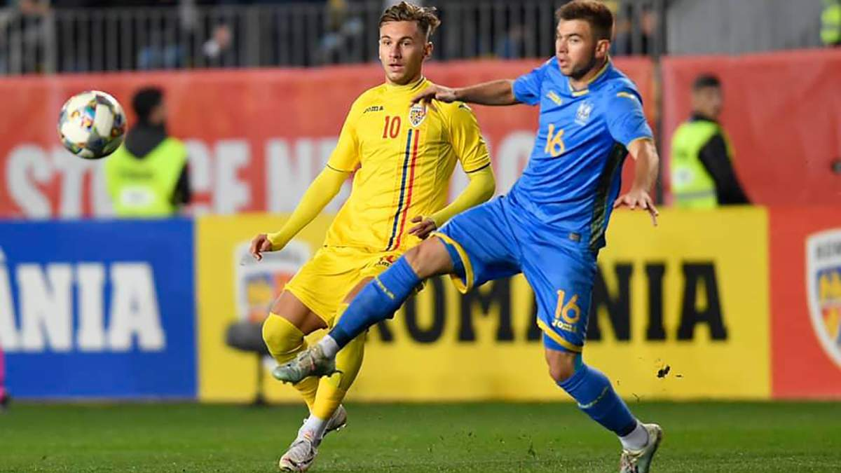 Румыния U-21 — Украина U-21 результат и обзор матча