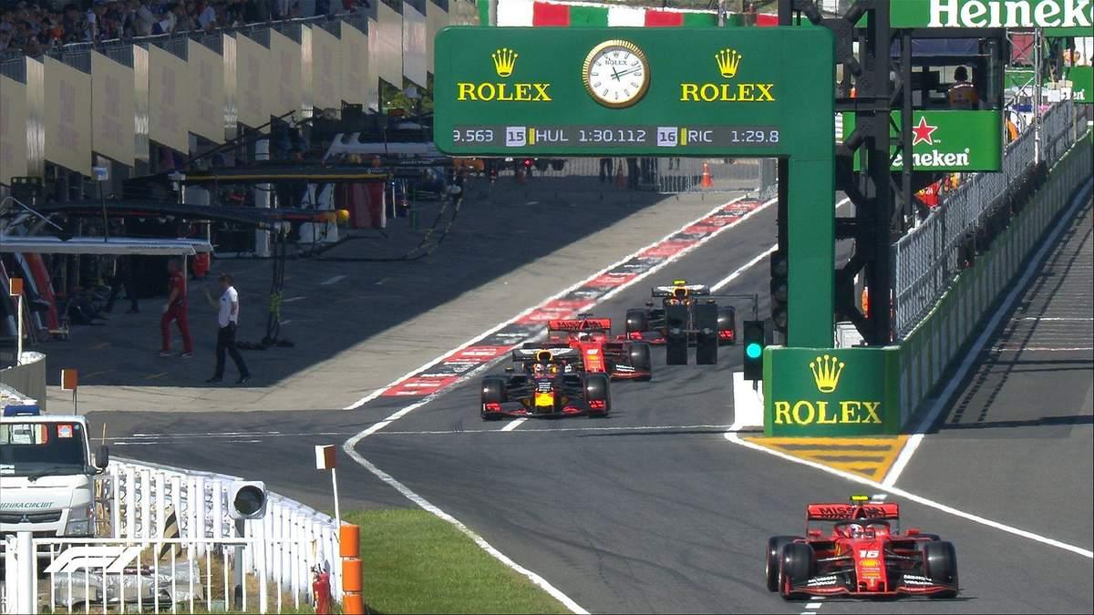 Гран-прі Японії: онлайн-трансляція перегонів Формули-1