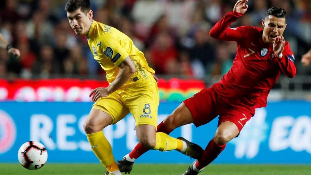 Слезы Роналду: Необычные ставки на матч Украина — Португалия
