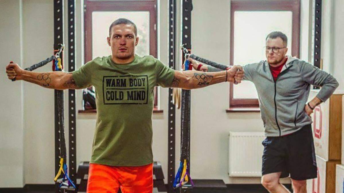 Как Усик готовился к дебюту в супертяжелом весе, – эксклюзивное интервью с тренером боксера
