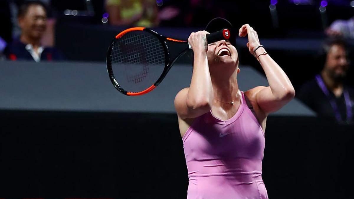 Свитолина повторила рекорд легендарной Уильямс на Итоговом турнире