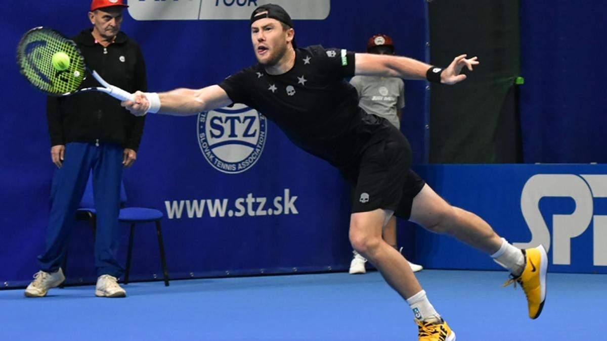 Марченко уверенно вышел во второй круг турнира в Словакии
