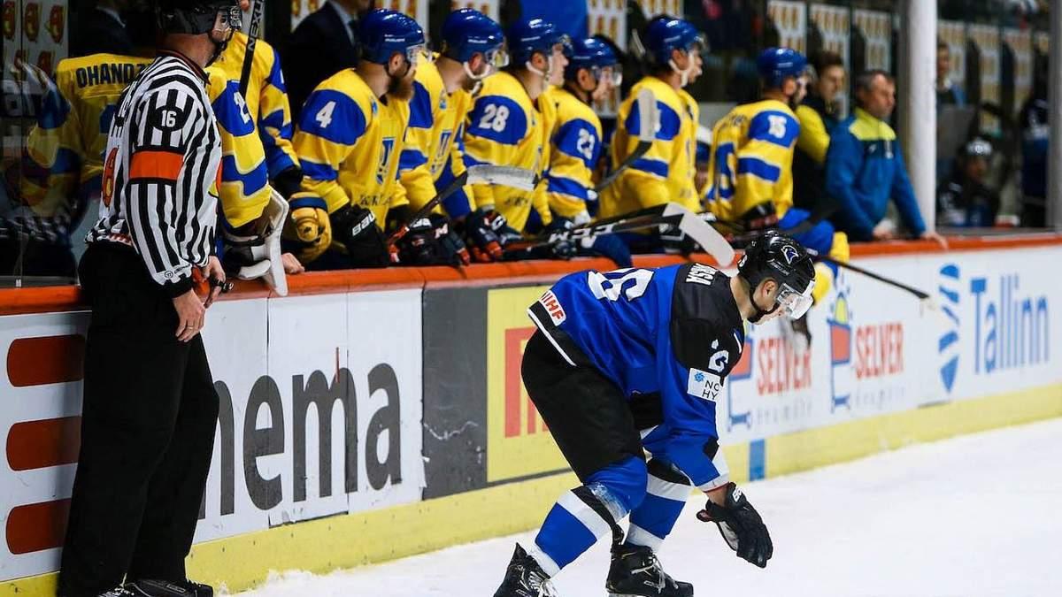 Сборная Украины по хоккею одержала первую победу в новом сезоне