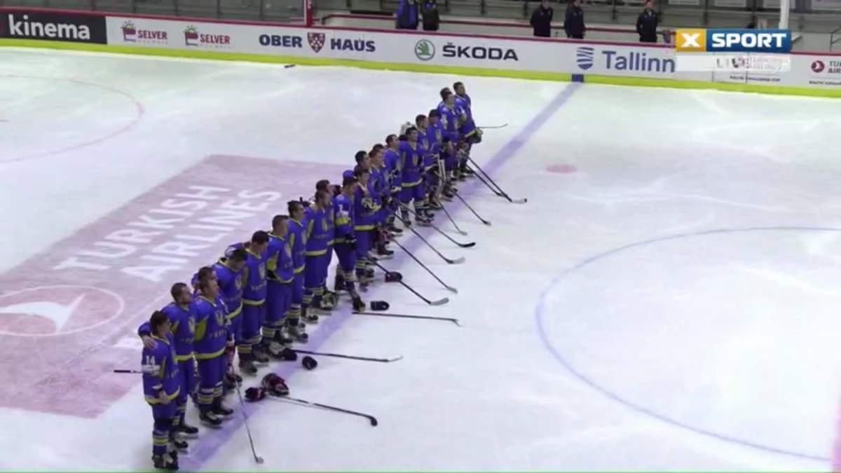 Украинский хоккеист забросил эффектную шайбу в дебютном поединке за сборную Украины