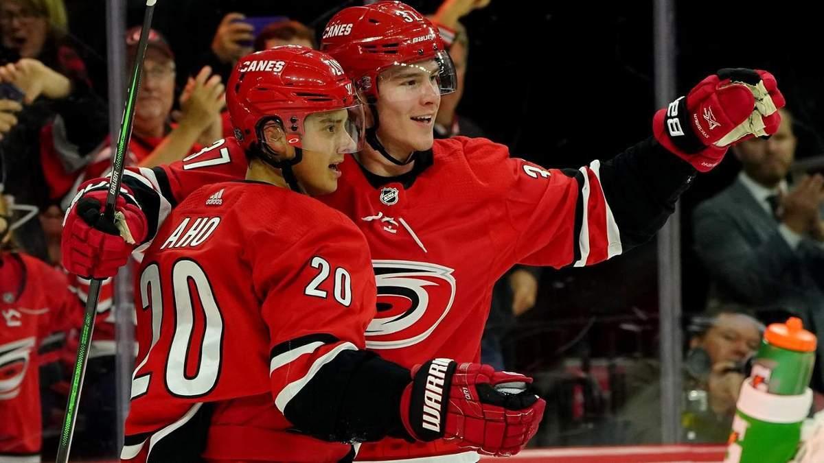 """Как """"Оттава"""" забросила две шайбы за 4 секунды в матче НХЛ: видео"""