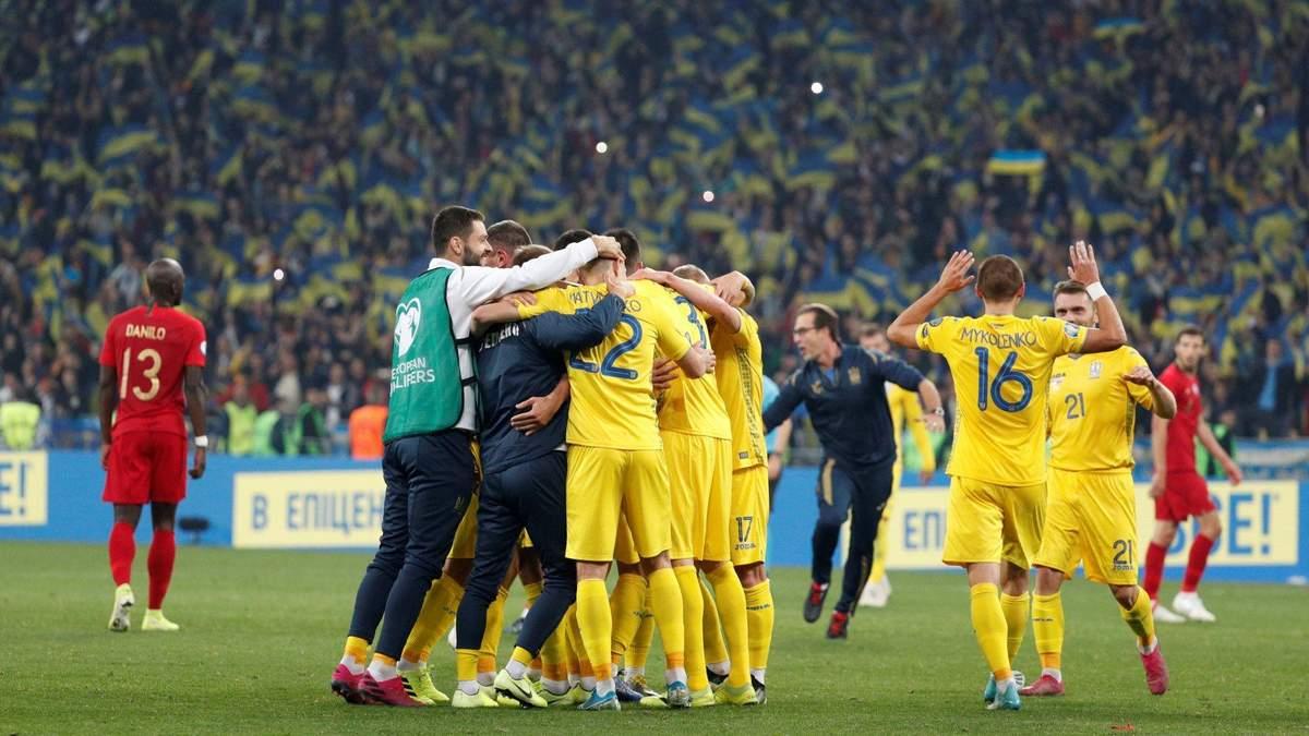 Відбір на Євро 2020 року – огляд, рахунок матчів 17 листопада 2019