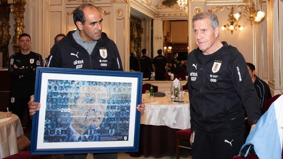 Тренер сборной Уругвая попал в Книгу рекордов Гиннеса