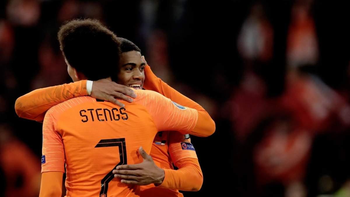 Разгромные победы Нидерландов и Германии и другие результаты отбора Евро-2020 19 ноября