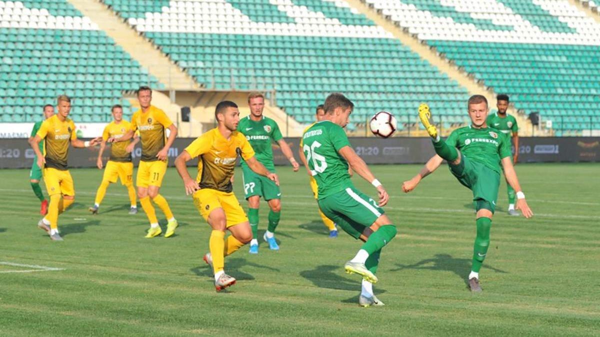 Дніпро-1 - Ворскла: огляд, рахунок, відео голів матчу 23 листопада 2019