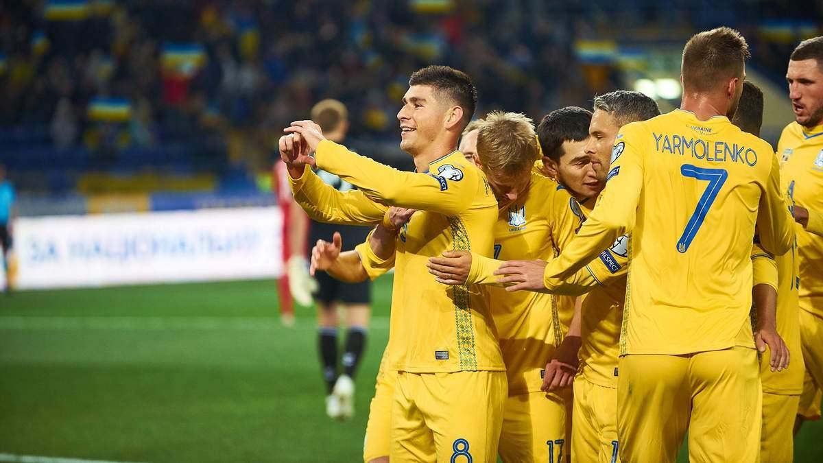 Руслан Маліновський тричі забивав за збірну України