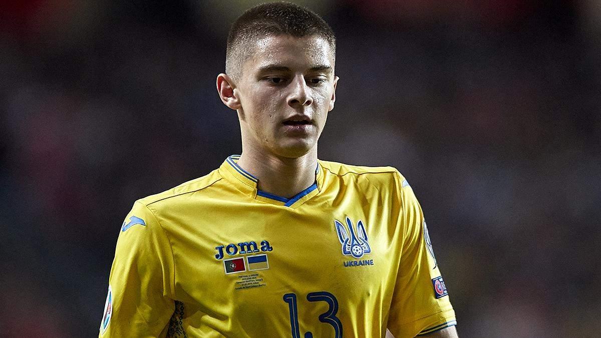 Гравець збірної України увійшов у символічну збірну відбору Євро-2020