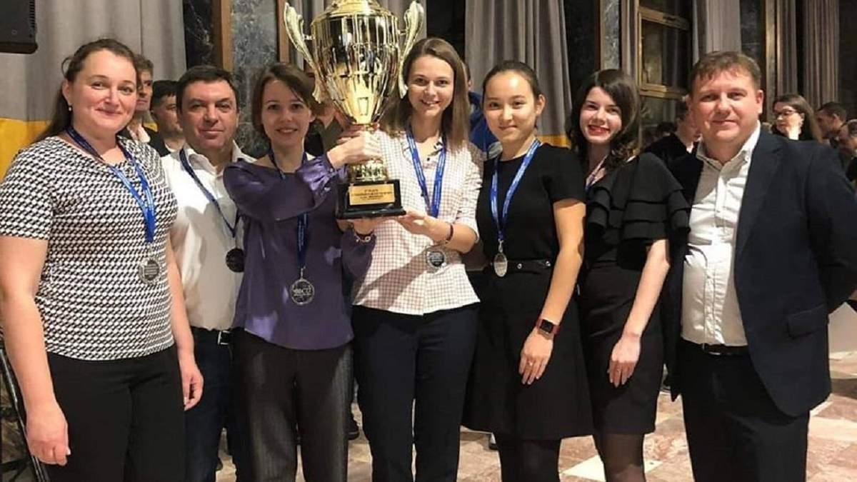 """Kyiv Chess Federation"" – віцечемпіони Європи"