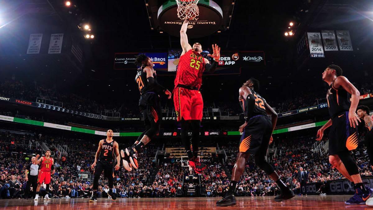 """""""Детройт"""" розбив """"Атланту"""" в НБА: Михайлюк встановив персональний рекорд, а Лень набрав 16 очок"""