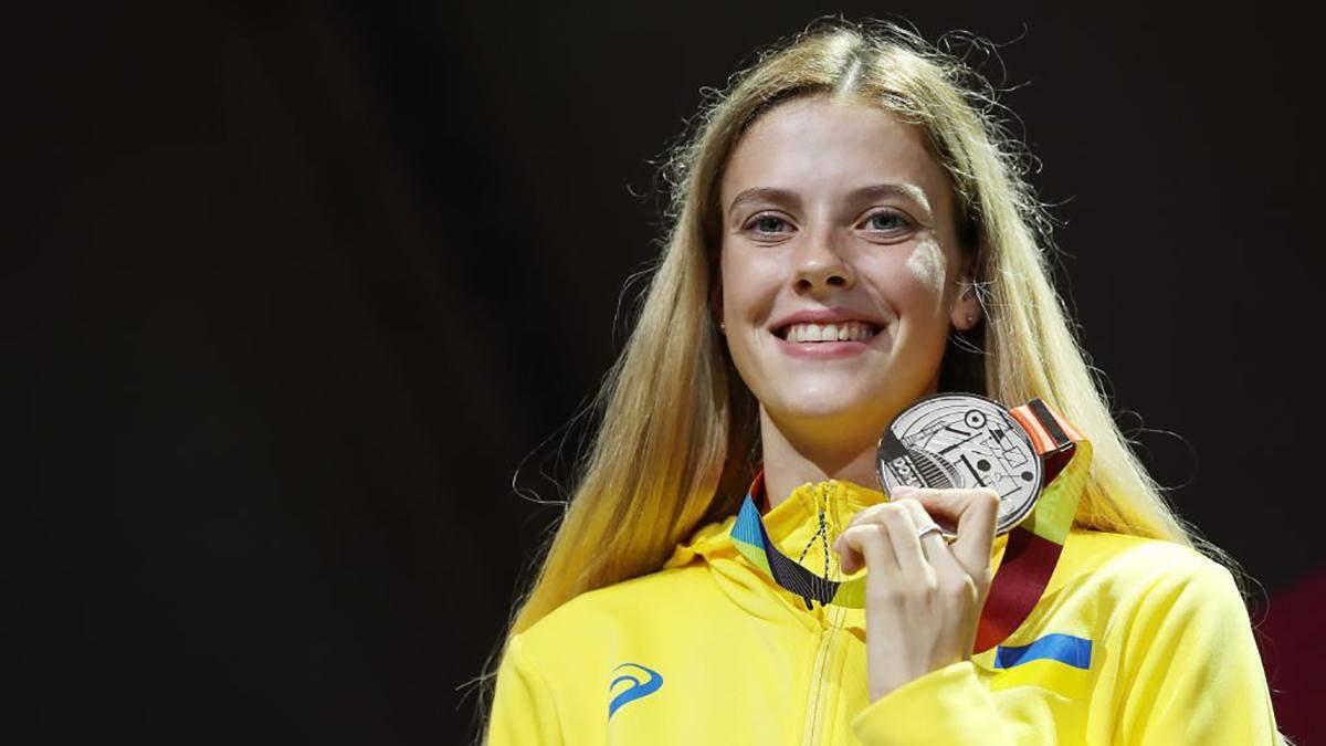 Украинку Ярославу Магучих признали лучшей молодой легкоатлеткой мира