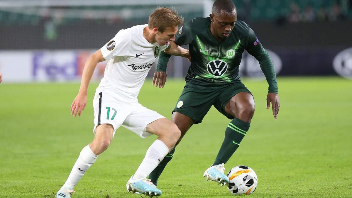 Олександрія – Вольфсбург: прогноз букмекерів на матч Ліги Європи