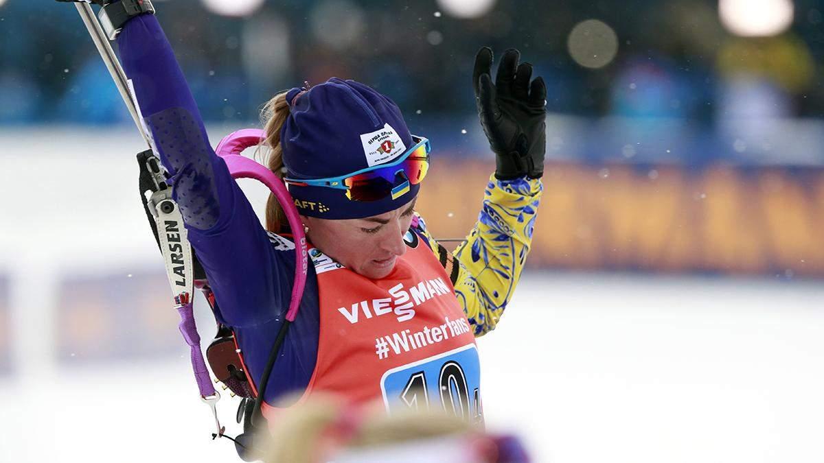 Вирер победила в спринте, Вита Семеренко финишировала 10-й