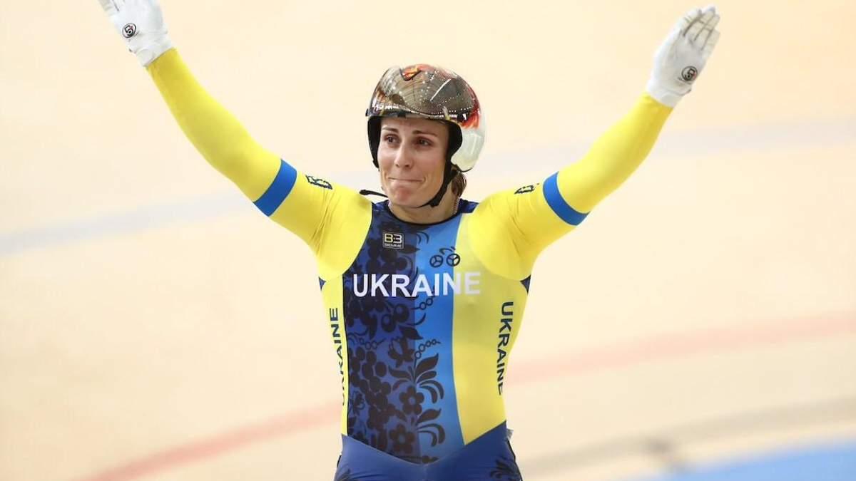 Украинка Басова завоевала серебро на этапе Кубка мира по велотреку